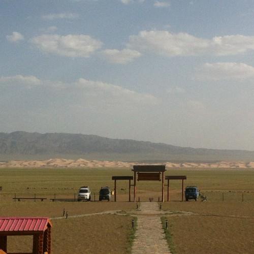 61 camp yourtes Khongor dune Gobi