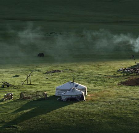 Les contrastes de la Mongolie 1
