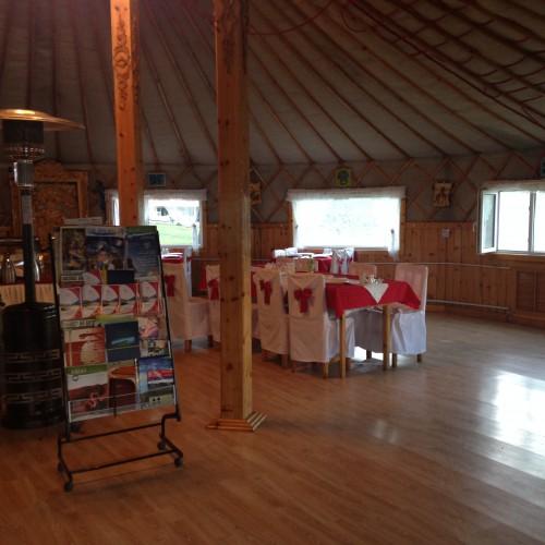 87 restaurant camp de yourtes Tariat