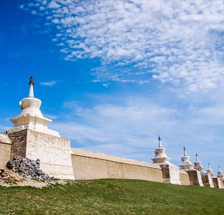 Inspiration des steppes Mongoles